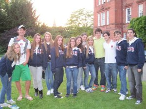 First meeting with Shrewsbury´s Students